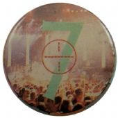 Duran Duran - 'Concert 7' Button Badge
